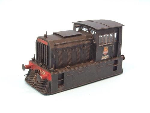 Hunslet Diesel Shunter