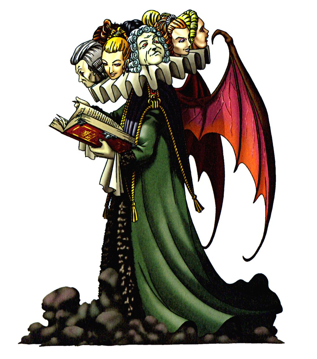 悪魔辞典邪神悪神堕天使のイラスト画像コレクション
