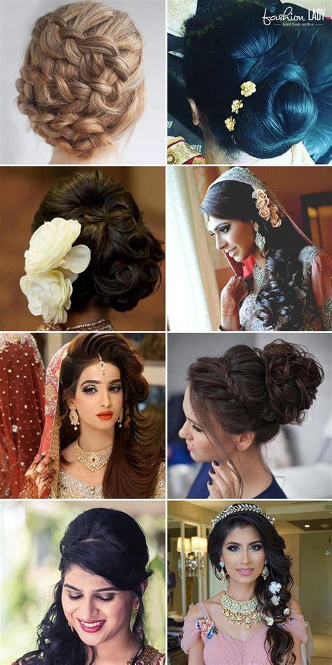 Best 25  Indian bridal hairstyles ideas on Pinterest