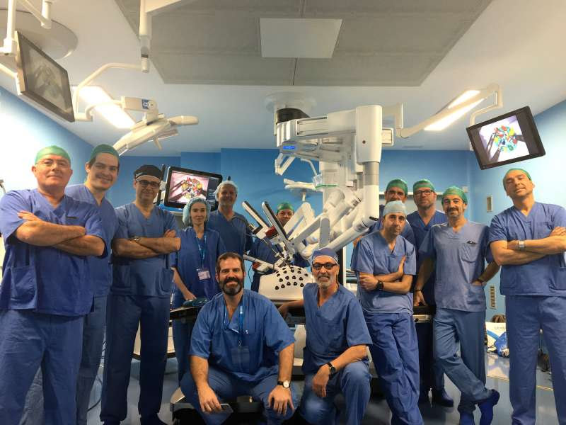 I Jornada de Cirugia Robótica en IMED Valencia.