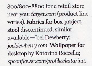 DIY magazine feature