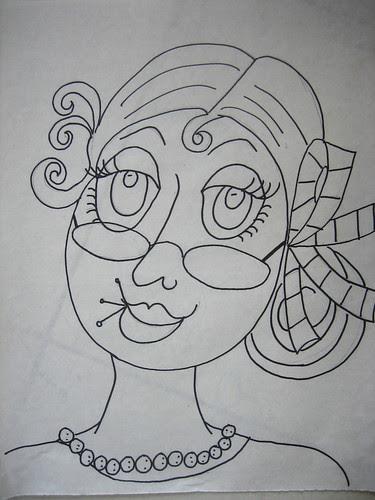 #4 drawing in Ladies Series