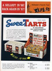 Sweetarts Halloween candy ad
