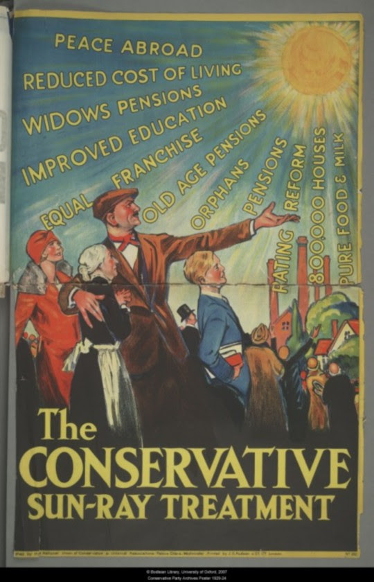 1929 Conservative poster