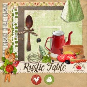 Rustic Table Mini Kit