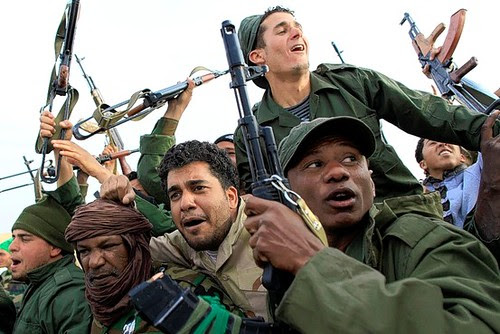 Libyan military forces are fighting to defeat the US/NATO-backed counter-revolutionaries who are acting in concert with the imperialist forces inside this North African state. The imperialists mounted a bombing campaign for eight months. by Pan-African News Wire File Photos