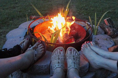 fire toes