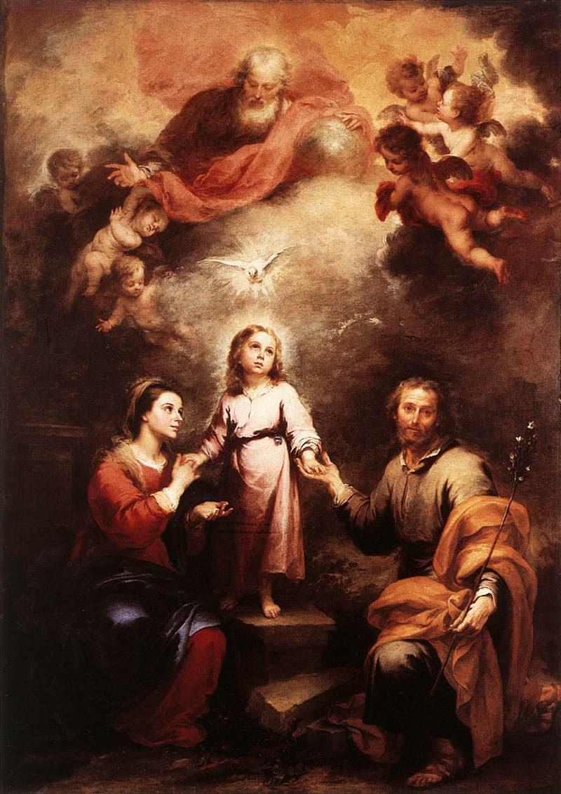 MURILLO, Bartolomé Esteban, Cele doua Trinitati
