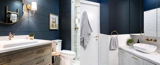 Top 50 Best Blue Bathroom Ideas Navy Themed Interior Designs