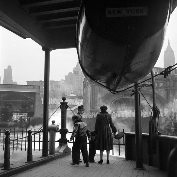 Staten Island Ferry, 1955.