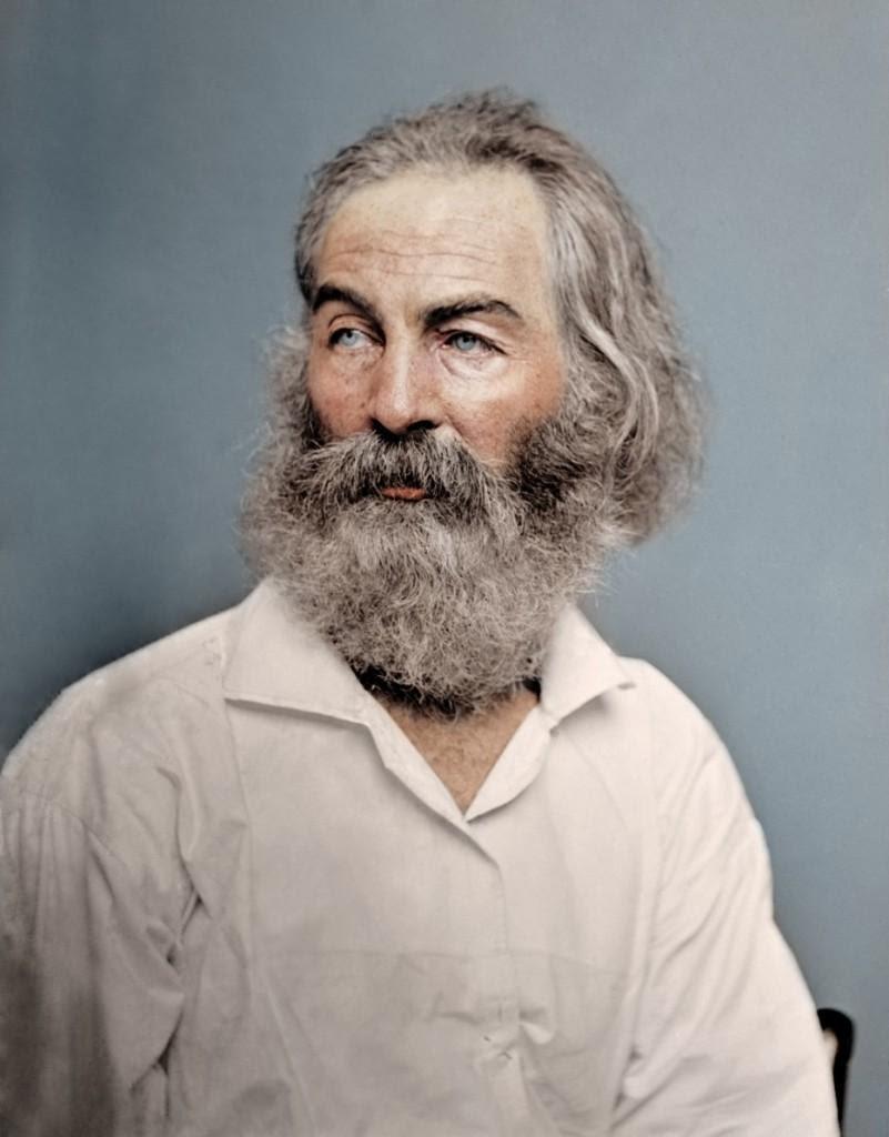 Poeta Walt Whitman, 1868