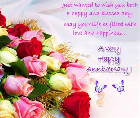 A Happy And Blessed Anniversary! Free To a Couple eCards