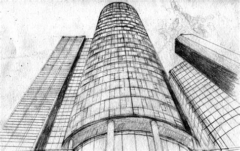drawings  tall buildings