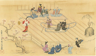 The Sumida-Gawa, A Theatrical Picture - Ukiyoe