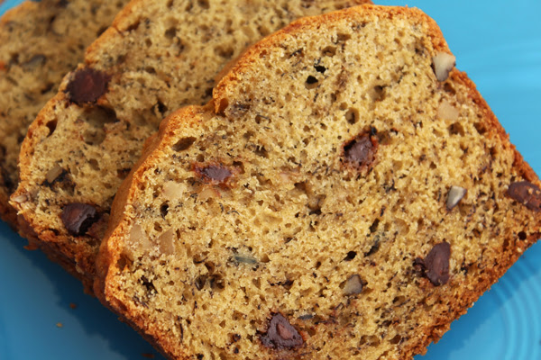 Chocolate Chip Banana Bread - Jenny Can Cook
