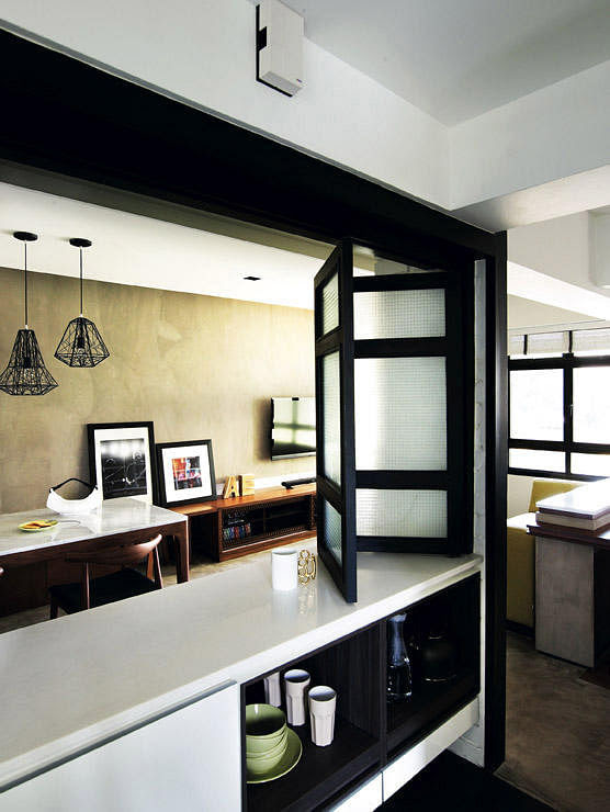 sliding door design for dining room  | 1200 x 1512