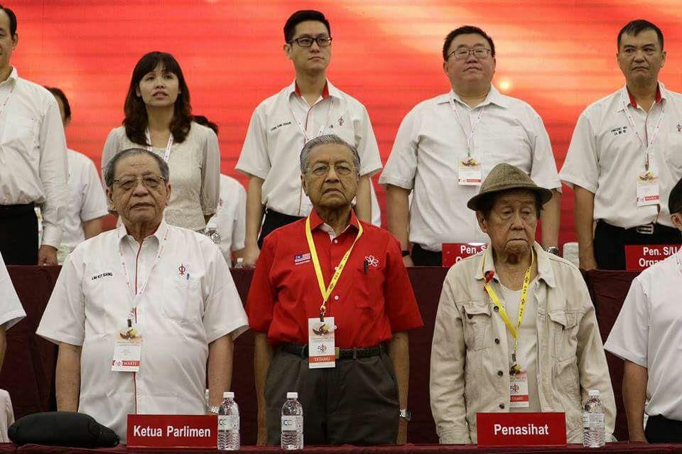 Mahathir DAP