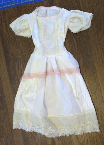 Moira's wedding dress