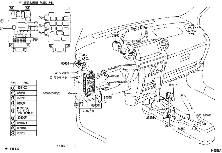 35 2008 Scion Xd Fuse Box Diagram