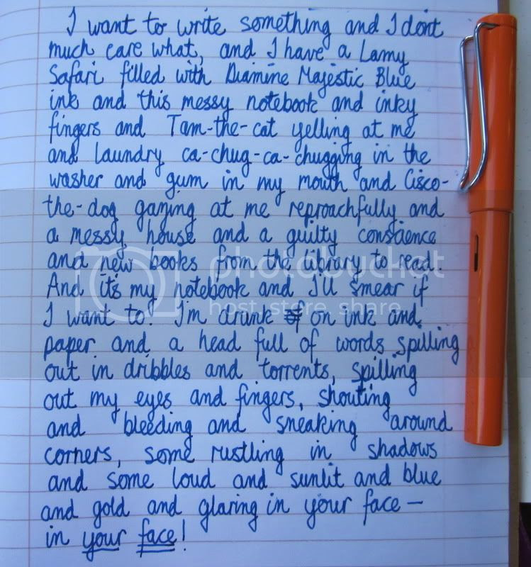 vignette,handwriting,Lamy Safari,fountain pen
