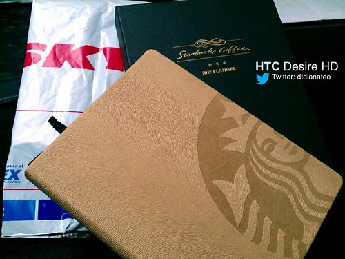 Birthday 01 - Starbucks Planner from Miri