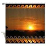 Hawaii Shower Curtains | Custom Themed Hawaii Bath Curtains ...
