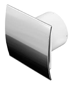 ventilator testsieger mkk shop badl fter 100mm edelstahl wei und feuchtigkeitssensor. Black Bedroom Furniture Sets. Home Design Ideas