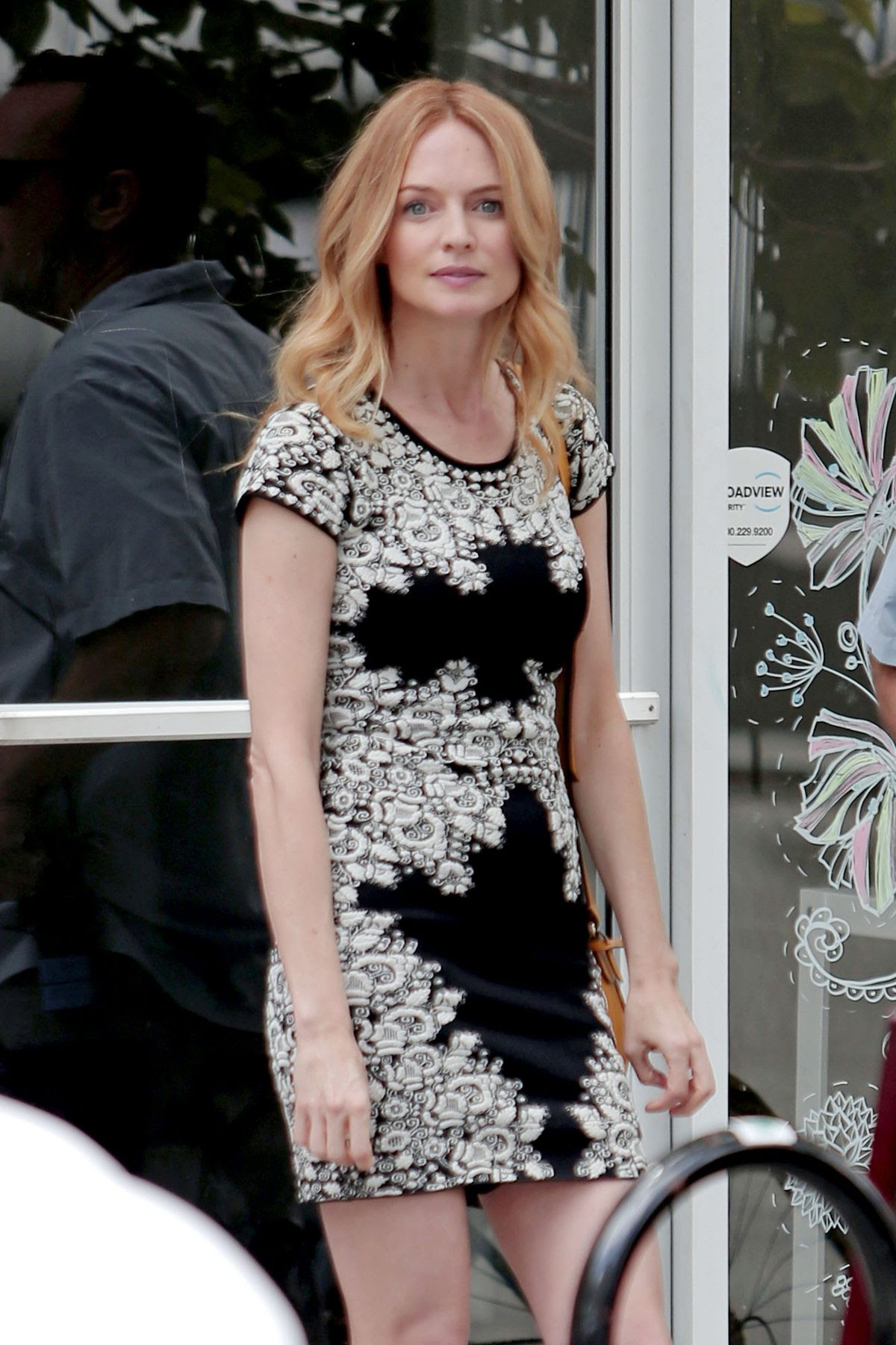 HEATHER GRAHAM on the Set of Half Magic in Los Angeles 06/08/2015