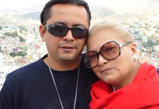 Yolanda Morán, with her son Dan Fernández, before he disappeared after he was seized by a military intelligence group in December 2008. Credit: Courtesy of Yolanda Morán