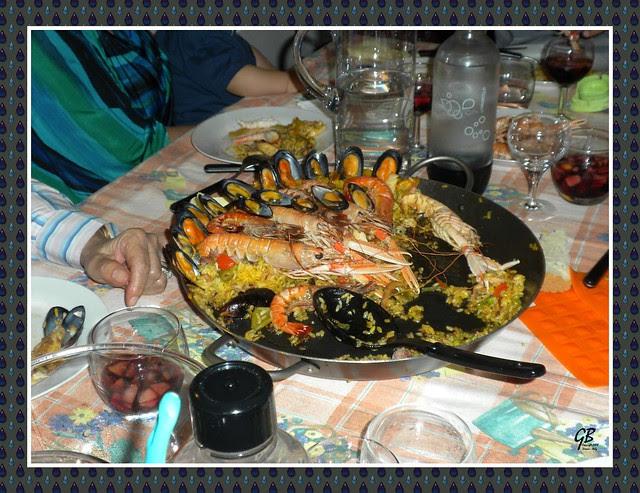 paella valenciana, ricette cucina, Spagna, primi, secondi