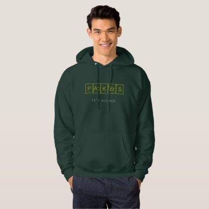 Packers Periodic table hoodie