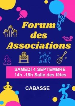 Forum des associations de Cabasse