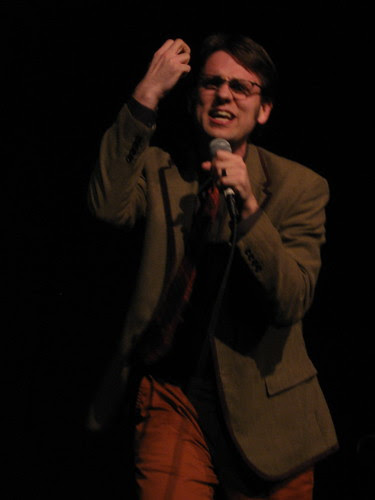 Dan Telfer at the Lakeshore Theater Feb. 7, 2009