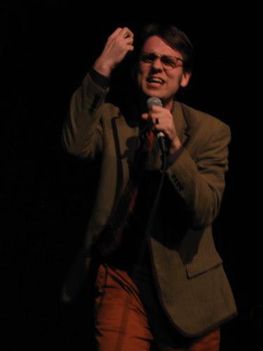 Dan Telfer at the Lakeshore Theater Feb. 7, 2009