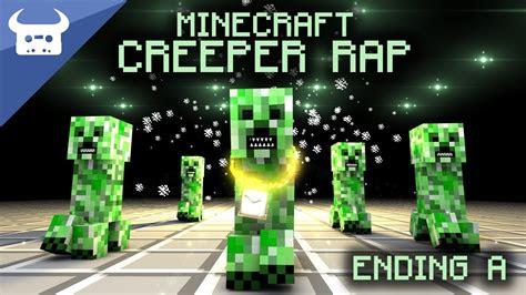 minecraft creeper rap  bull   youtube