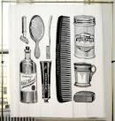 Izola Apothecary Shower Curtain | Finer Cut