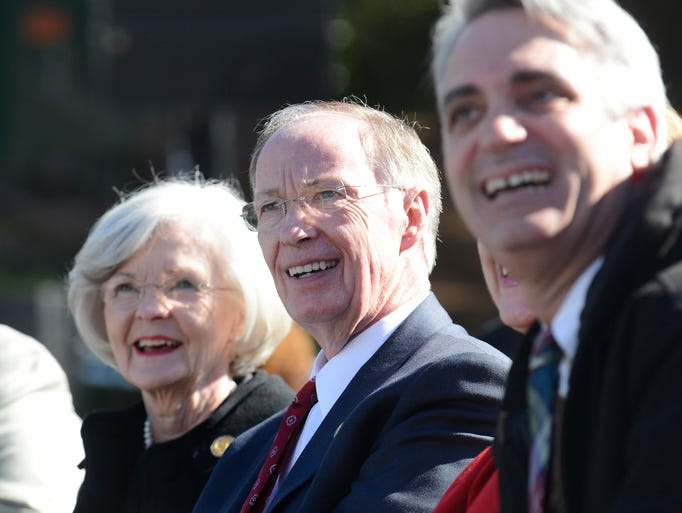 Governor Robert Bentley and First Lady Dianne Bentley