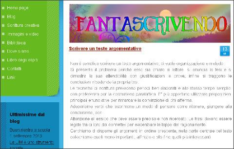 http://www.fantascrivendo.com/2013/10/13/scrivere-un-testo-argomentativo/