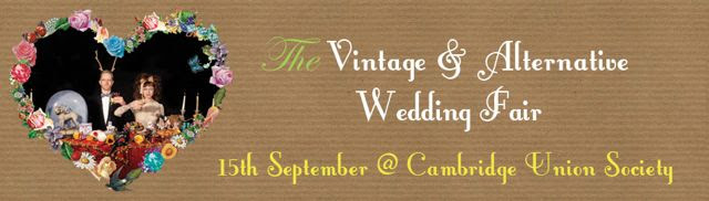 alternative & vintage wedding fair