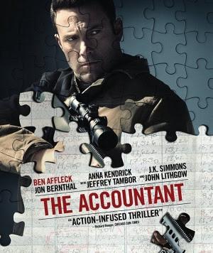 Resultado de imagem para movie poster the accountant