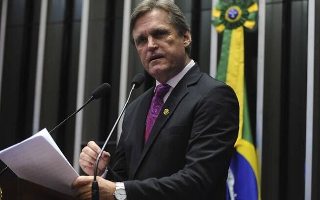 O senador Dário Berger (SC) é um dos indicados do PMDB para compor a comissão do impeachment no Senado. Foto: Moreira Mariz/Agência Senado - 03.03.16