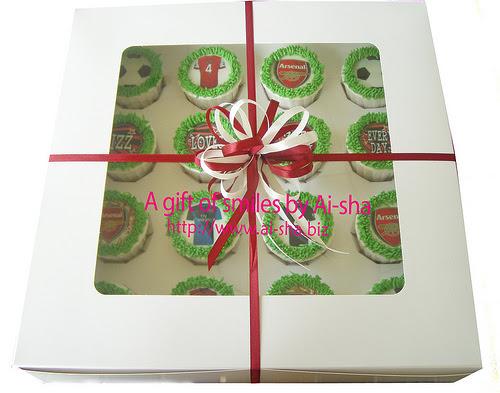 Cupcakes Edible Image Arsenal Ai-sha Puchong Jaya
