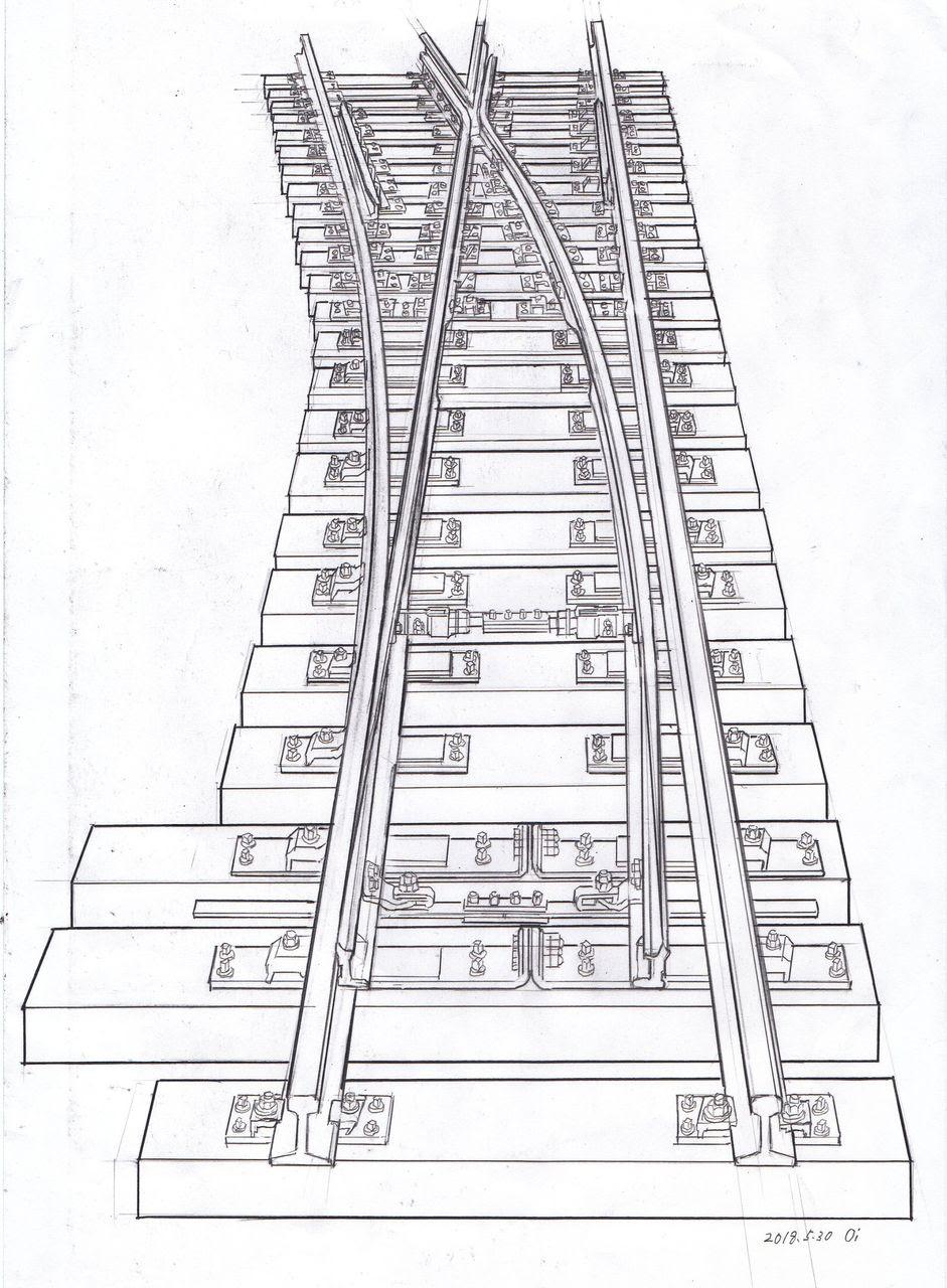 仮想鉄道塗り絵道場