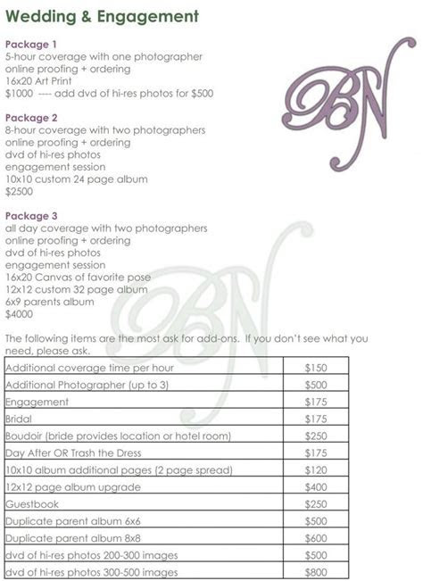 Best 25  Wedding photography checklist ideas on Pinterest