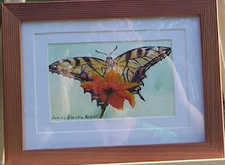 swallowtail butterfly painting