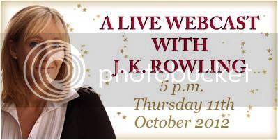J.K. Rowling Webcast