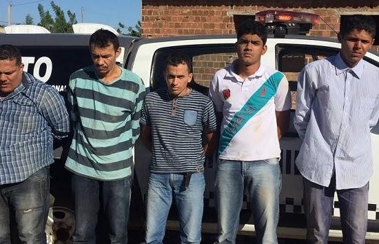 Homens são presos suspeitos de assaltar fazenda no RN