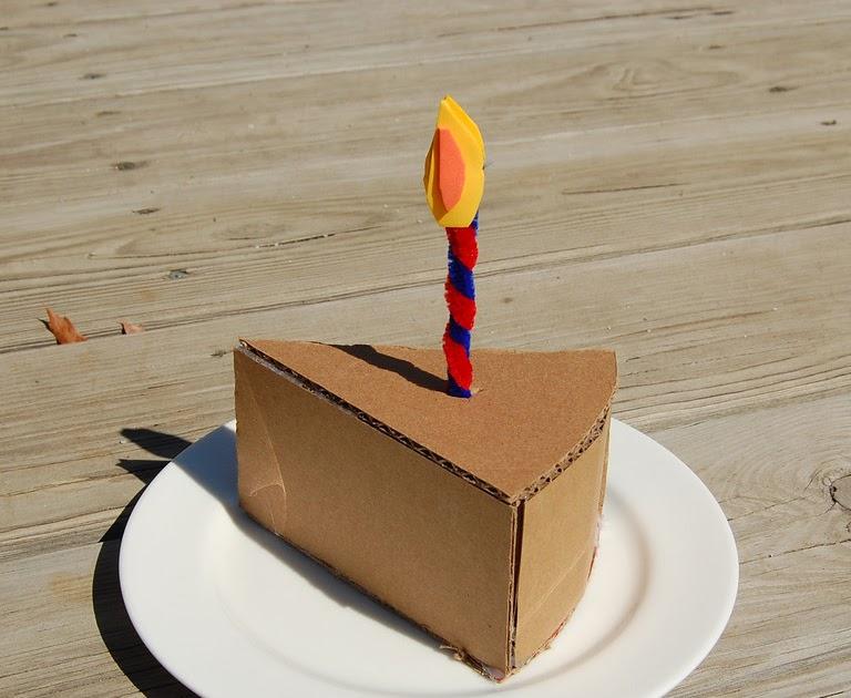 Ikat Bag Cardboard Cake