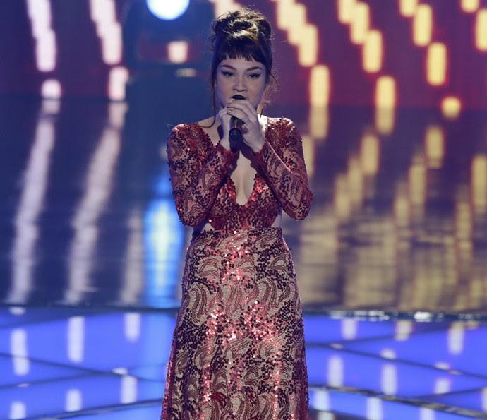 Jade Baraldo cantou Amy Winehouse (Foto: Artur Meninea/Gshow)