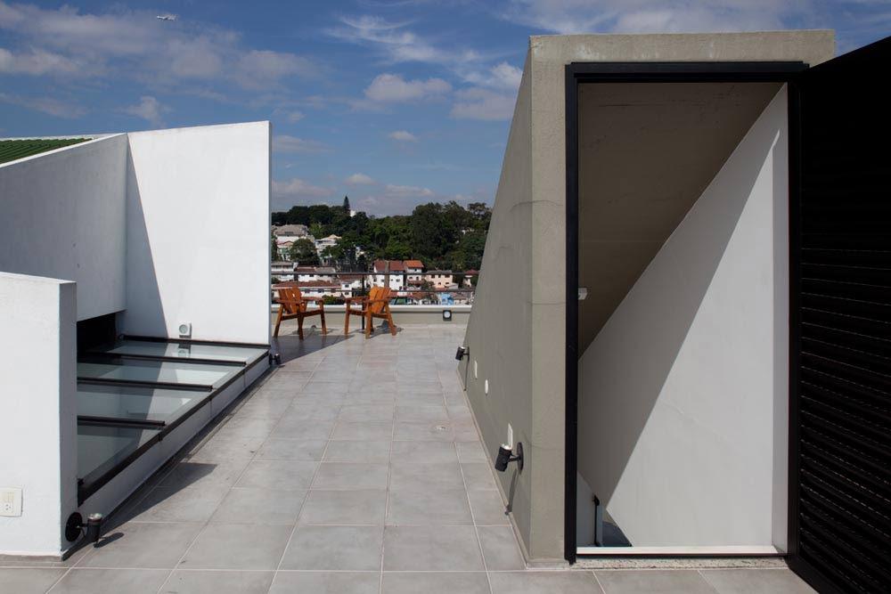 Residencia Mirante do Horto, Flavio Castro Arquitetos